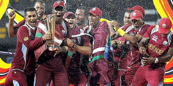 West indies winning Twenty20 world cup. beginners cricket betting guide teaches you how to win money betting on cricket.