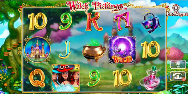 Play Witch Pickings on LeoVegas and use their welcome package!