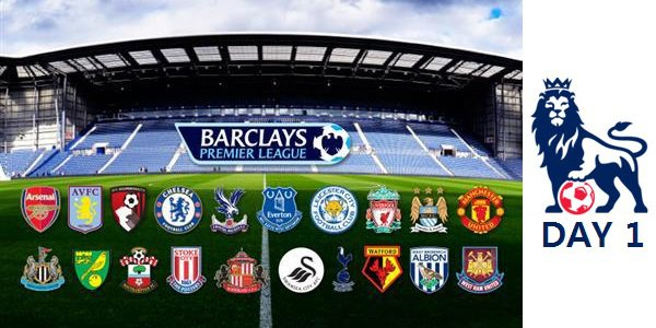 Barclays Premier League 2015-16 Match Day 1