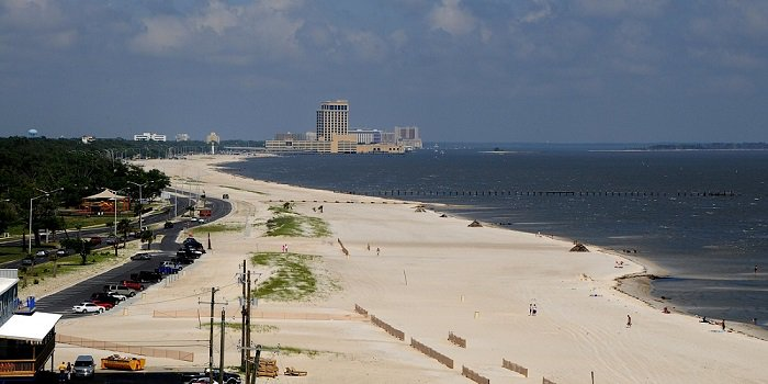 Biloxi Mississippi Gulf of Mexico beach
