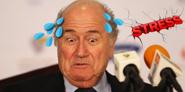 Sepp Blatter's Guilt So Obvious Even The Afterlife Doesn't Want Him