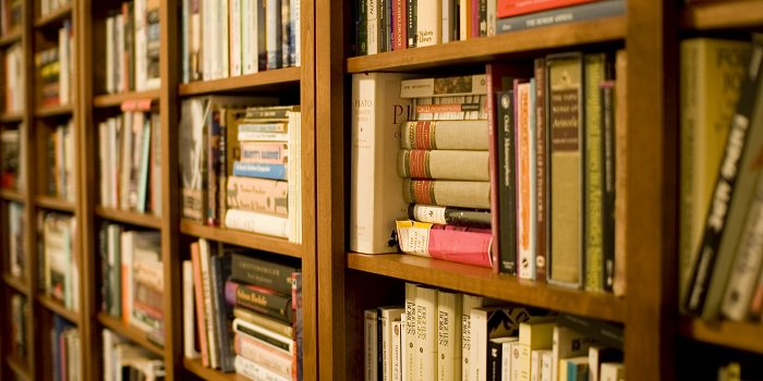 Books with lots of bookshelf