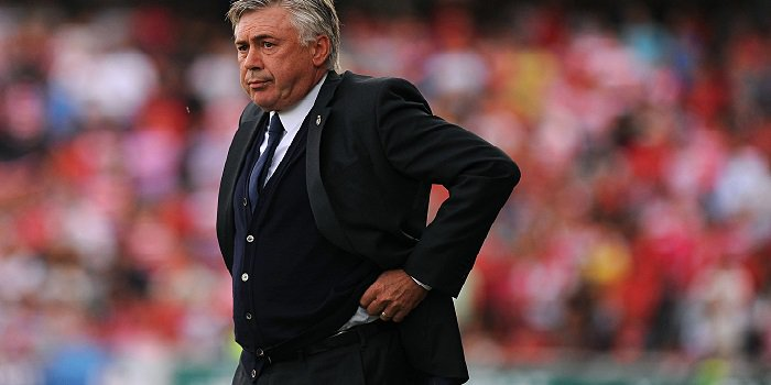 Carlo Ancelotti Walking away sadly