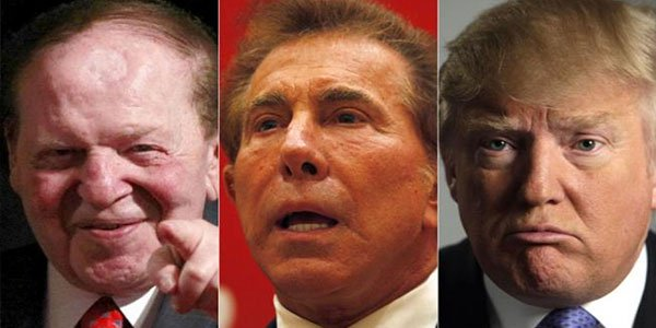 Wynn, Trump and Adelson