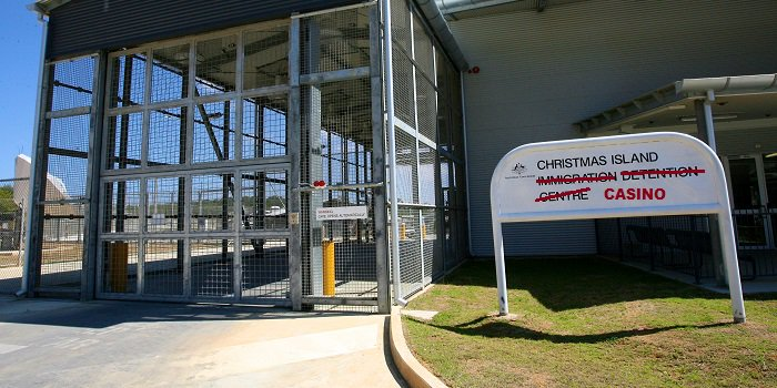 Christmas Island Immigration Detention Centre turned into a casino