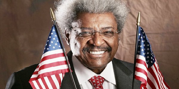 Don King, American flags