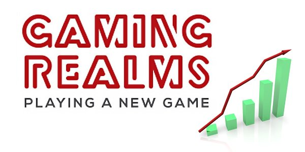 Gaming Realms, Playing a new game, rising charts