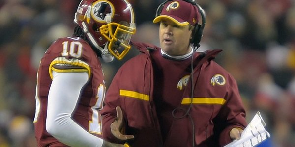 Jay Gruden the First NFL Coach to Be Fired in 2015?