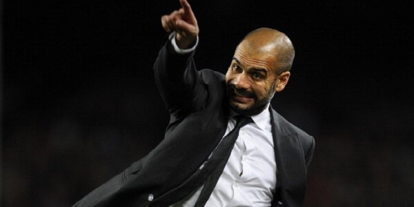 Guardiola pointing, Pep Guardiola