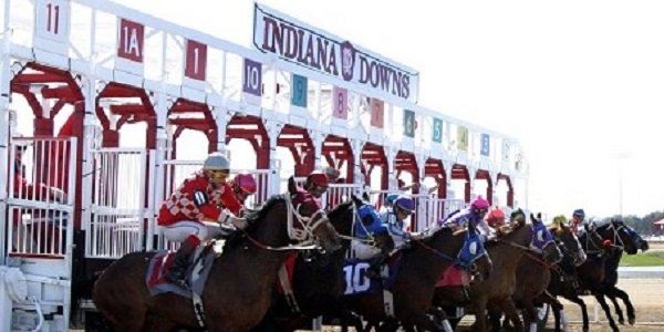 Indiana Downs racetrack start