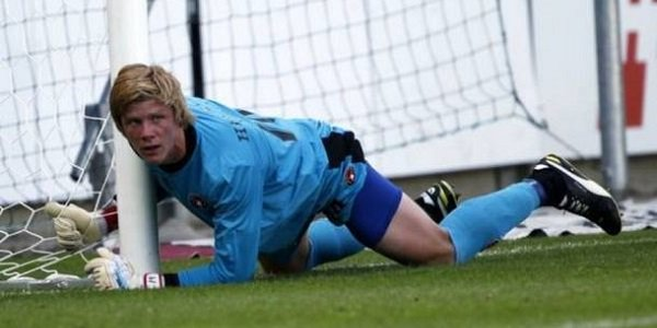 Jakob Haugaard Stoke city goalkeeper