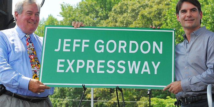 Jeff Gordon Expressway in North Carolina