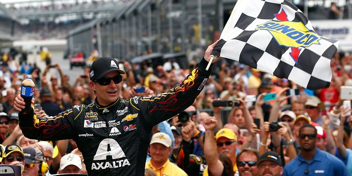 Jeff Gordon fifth Brickyard victory