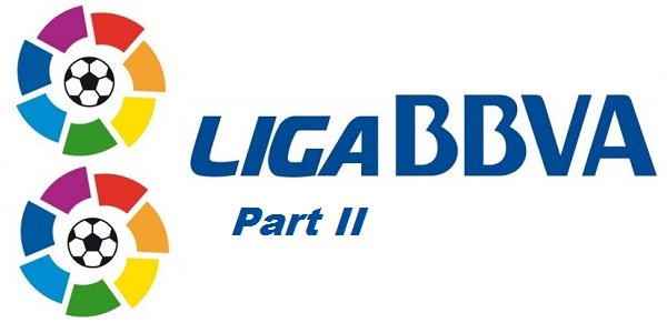 La Liga BBVA, Part two