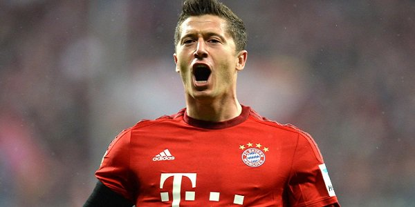 Five goal Lewandowski in 9 minutes Bayern against Wolfsburg