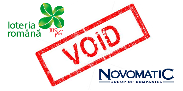 Romanian Lottery cancels contract with Novomatic
