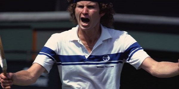 Tennis bad boys John McEnroe