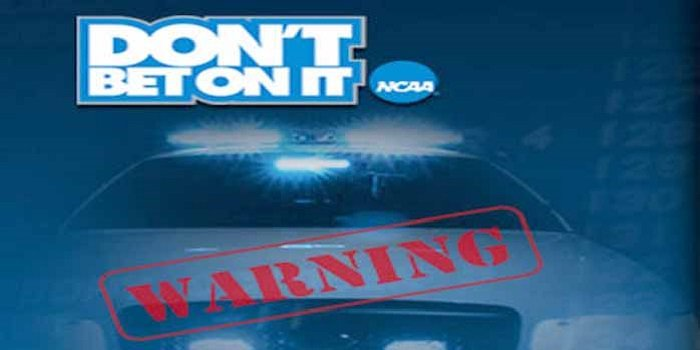NCAA Don't Bet On It campaign, police car