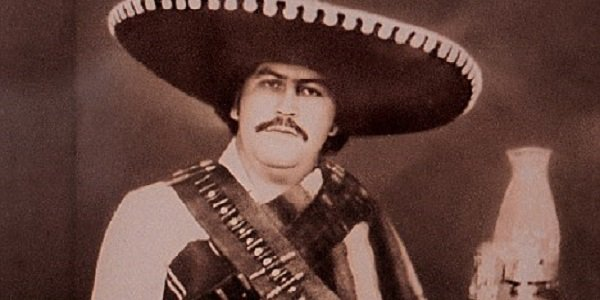 Pablo Escobar in Sombrero