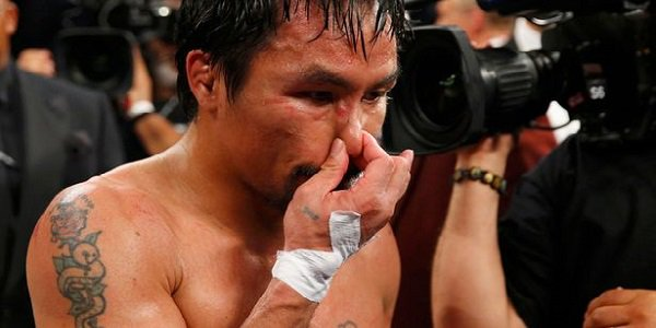 Manny Pacquiao, Fight of the century, defeat