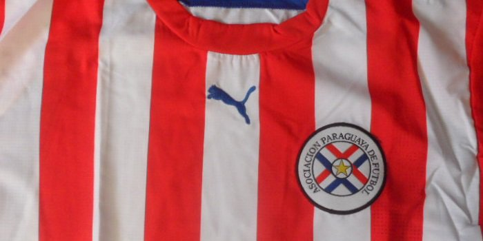 Paraguay football national team jersey Puma