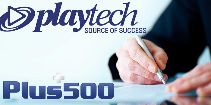 Signing contract Playtech +500