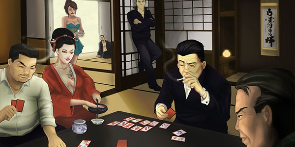 The Yakuza Gambling