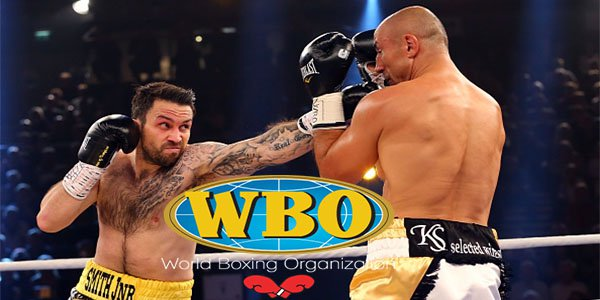 WBO match between Abraham and Smith