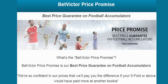 Best Football Accumulators with the BetVictor