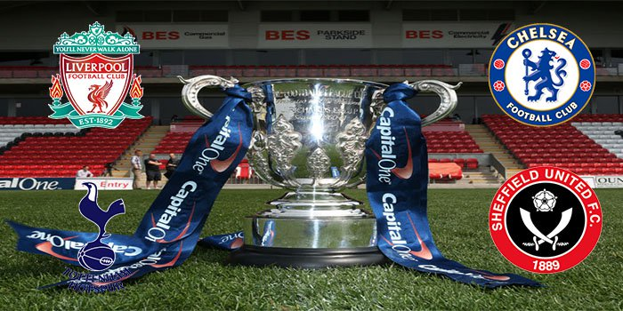 Capital One Cup Semi Finals Ready to Go Ahead