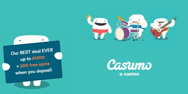 free slots at social casino Casumo