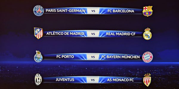 Champions League Quarter