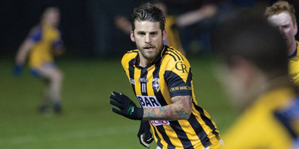 David Bentley in Crossmaglen Rangers jersey