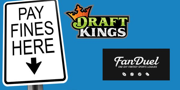 DraftKings and FanDuel fined in the US