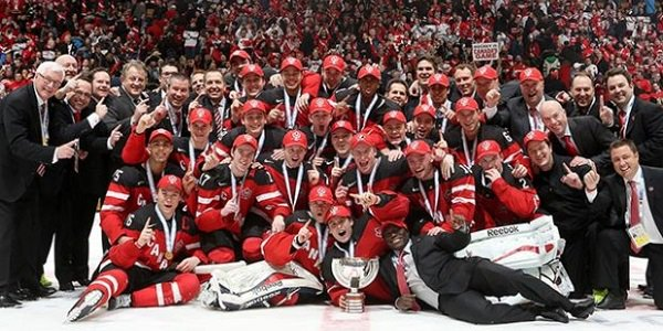 Canada Ice Hockey World Champions 2015