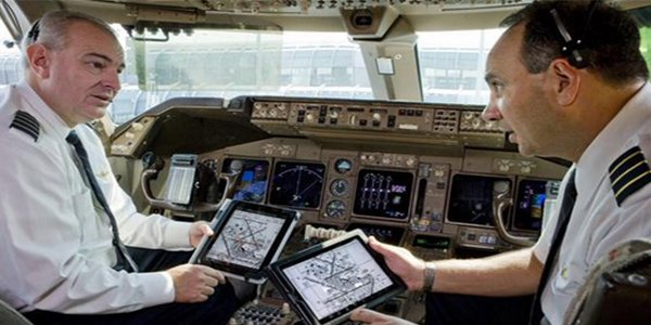 iPad Application for pilots crashes