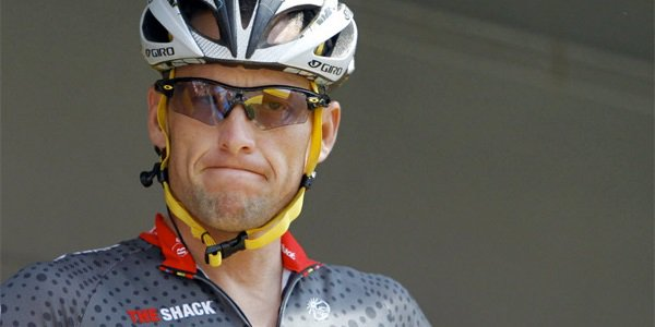 Lance Armstrong, annoyed face, lawsuit