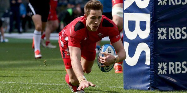 Liam Williams Wales Rugby Team  Six Nations 2016