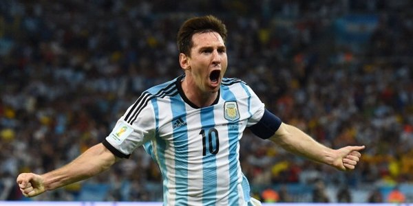 Messi Argentina's weapon