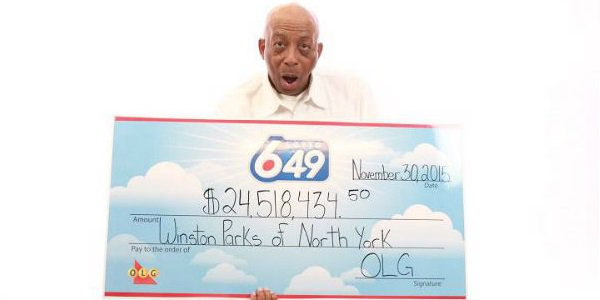 Great-grandfather wins Lotto 6/49