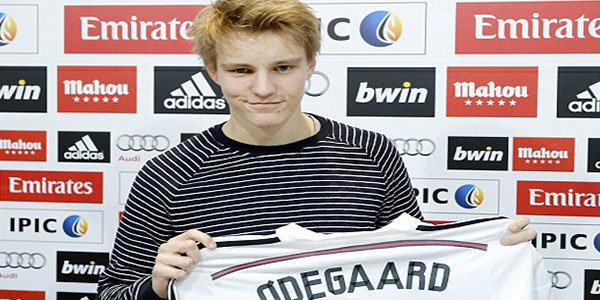 16 Year-Old Martin Odegaard is going to Play for Real Madrid