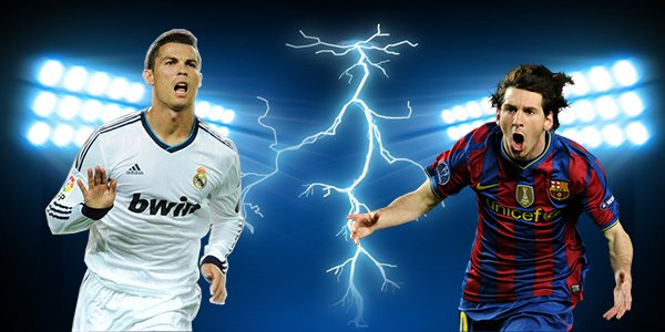 Rivalry between Messi and Ronaldo is fierce