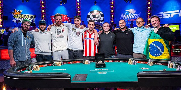 Wsop final table betting odds how does live nba betting work