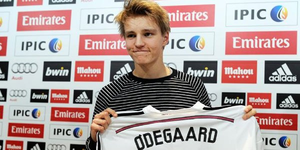 Unhappy Norwegian Martin Odegaard May Leave Madrid