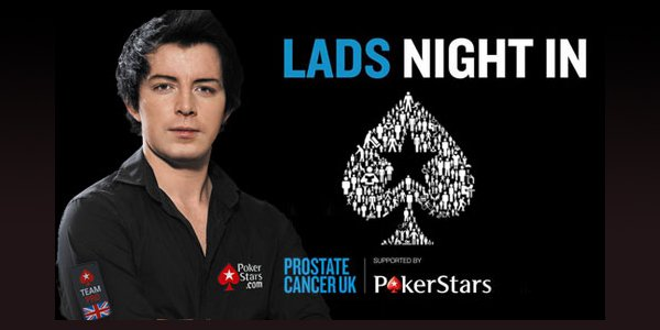 PokerStars Launches 'Lads Night In' Together with Prostate Cancer UK