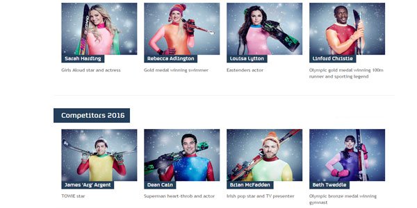 The Jump 2016 Contestants Odds Bet365