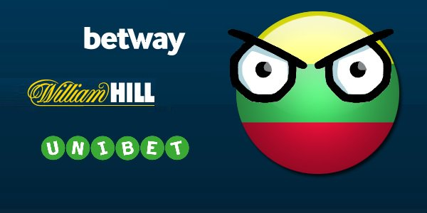 William Hill betway Unibet banned in Lithuania