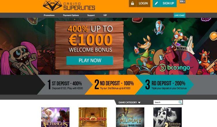 about casino superlines