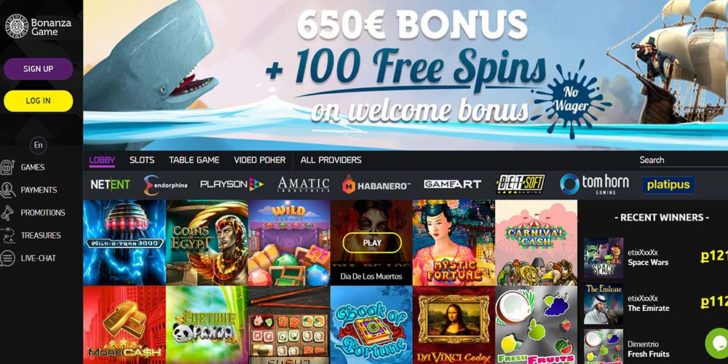 review about bonanza gaming casino