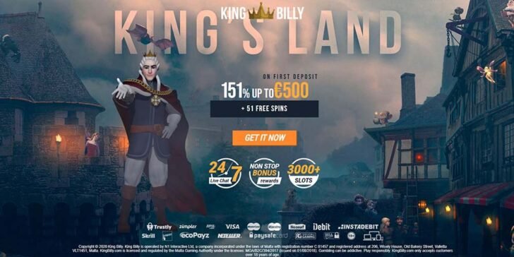 about king billy casino